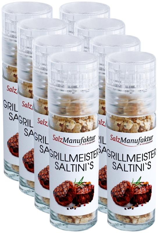 Taschenmühle 20g Bio Grillmeister saltinis VE 8 STÜCK