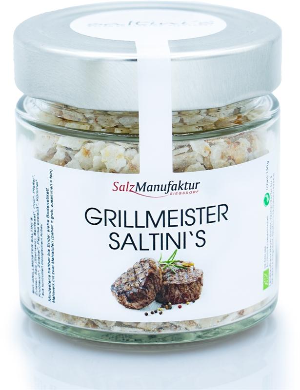 Saltinis Bio-Grillmeister 130g Nachfüllglas