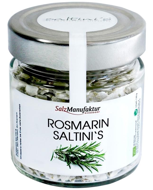 Saltinis Bio-Rosmarin 130g Nachfüllglas