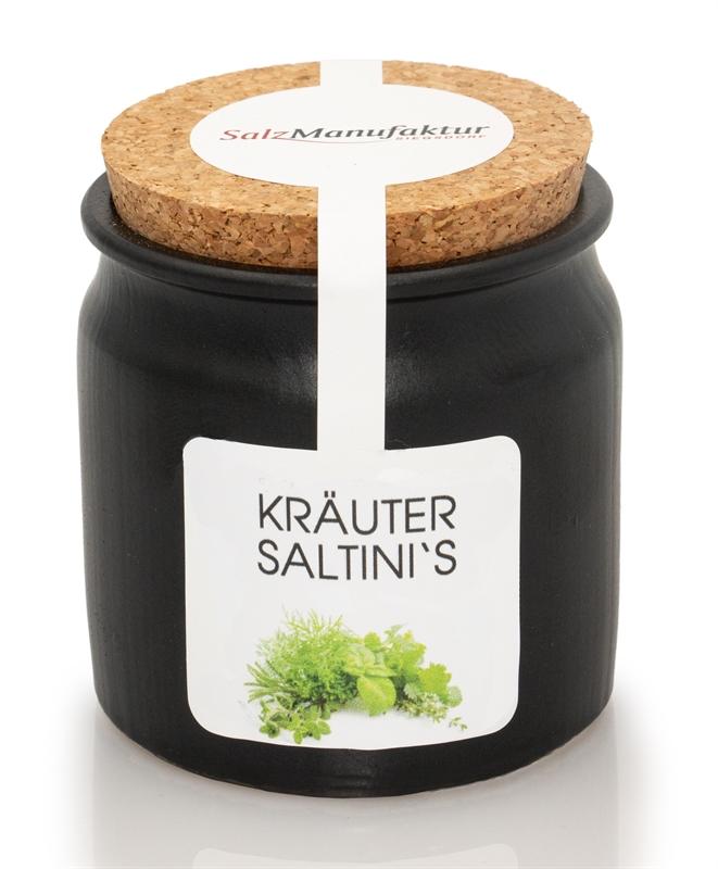 saltinis Bio-Kräuter 100g im Keramiktöpfchen