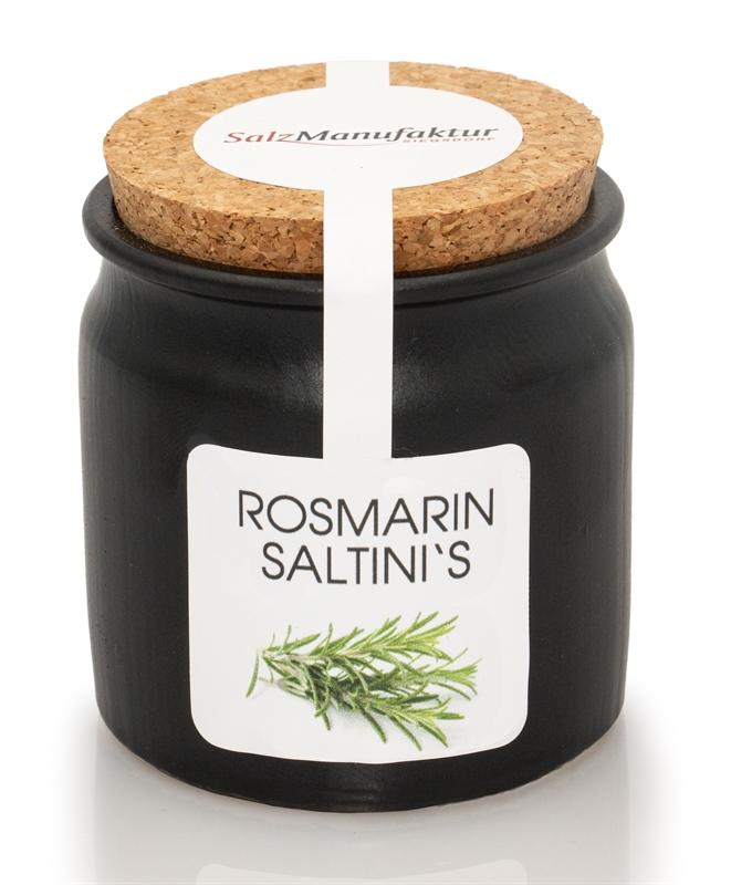 saltinis Bio-Rosmarin 100g im Keramiktöpfchen